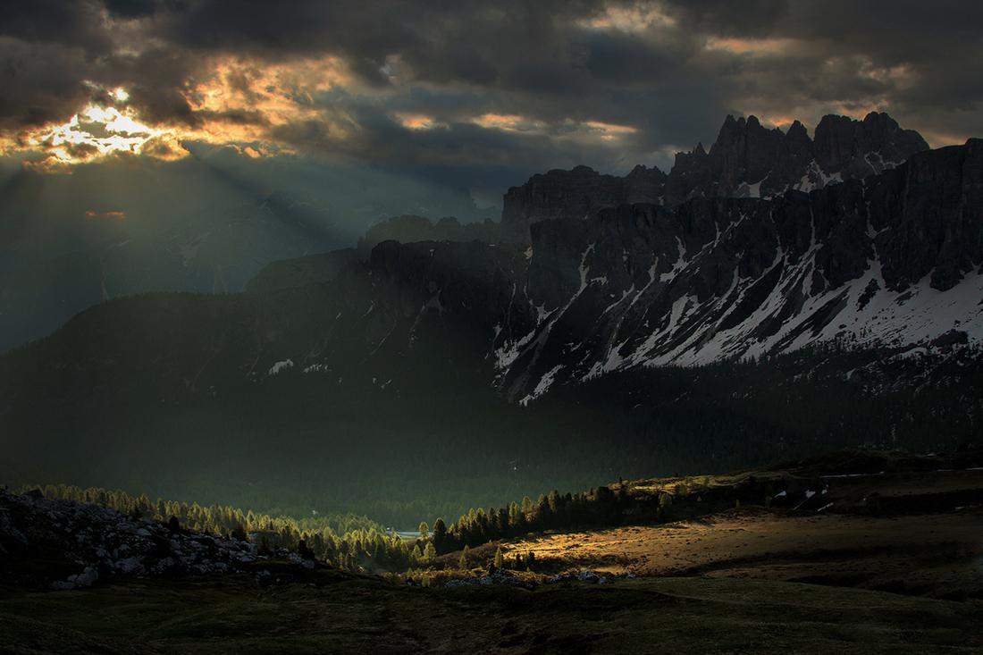 Dolomites at sunrise, Dolomites & Venice Photo Tour, June 2015