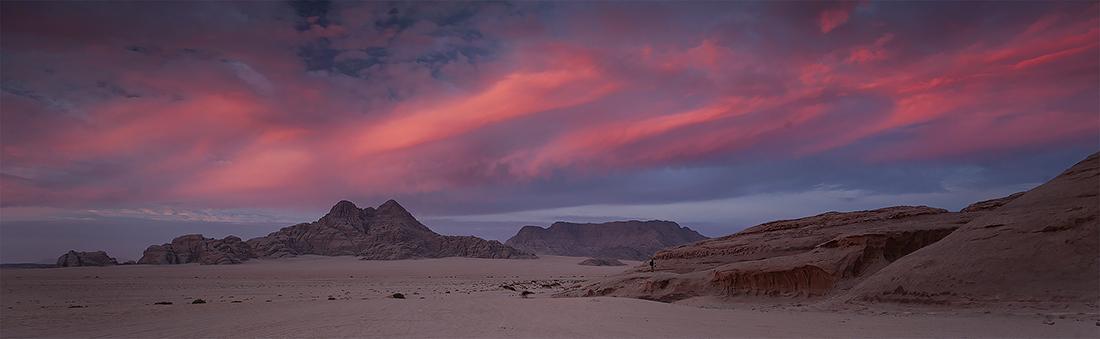 Sunrise in Wadi Rum, Jordan Photo Tour, November 2018